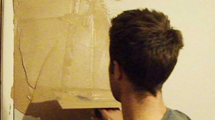 skimming plaster onto plasterboard